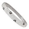 7 Row Hinged Bangle Diamond Bracelets