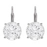 Single Stone Diamond Earrings