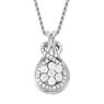 Love Knot Diamond Necklaces