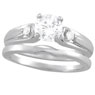 Three Stone Diamond Settings
