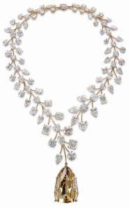 L'Incomparable Diamond Necklace by Mouawad