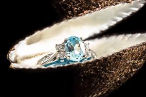Diamond Ring w/ Colored Gemstone - Houston Jeweler