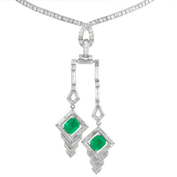 diamond-necklace-green