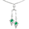 diamond-necklace-green